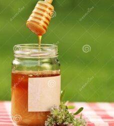 Caramelos de miel compuesta de tomillo