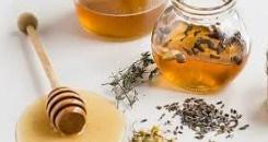 Caramelos de miel compuesta de cinco hierbas